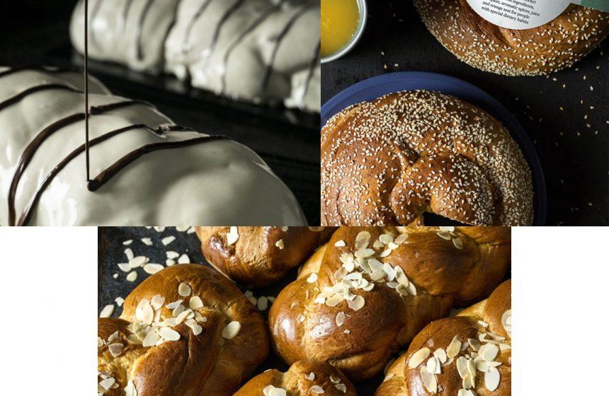 Spendenaktion zu Ostern mit Traditionelle Griechische Tsoureki